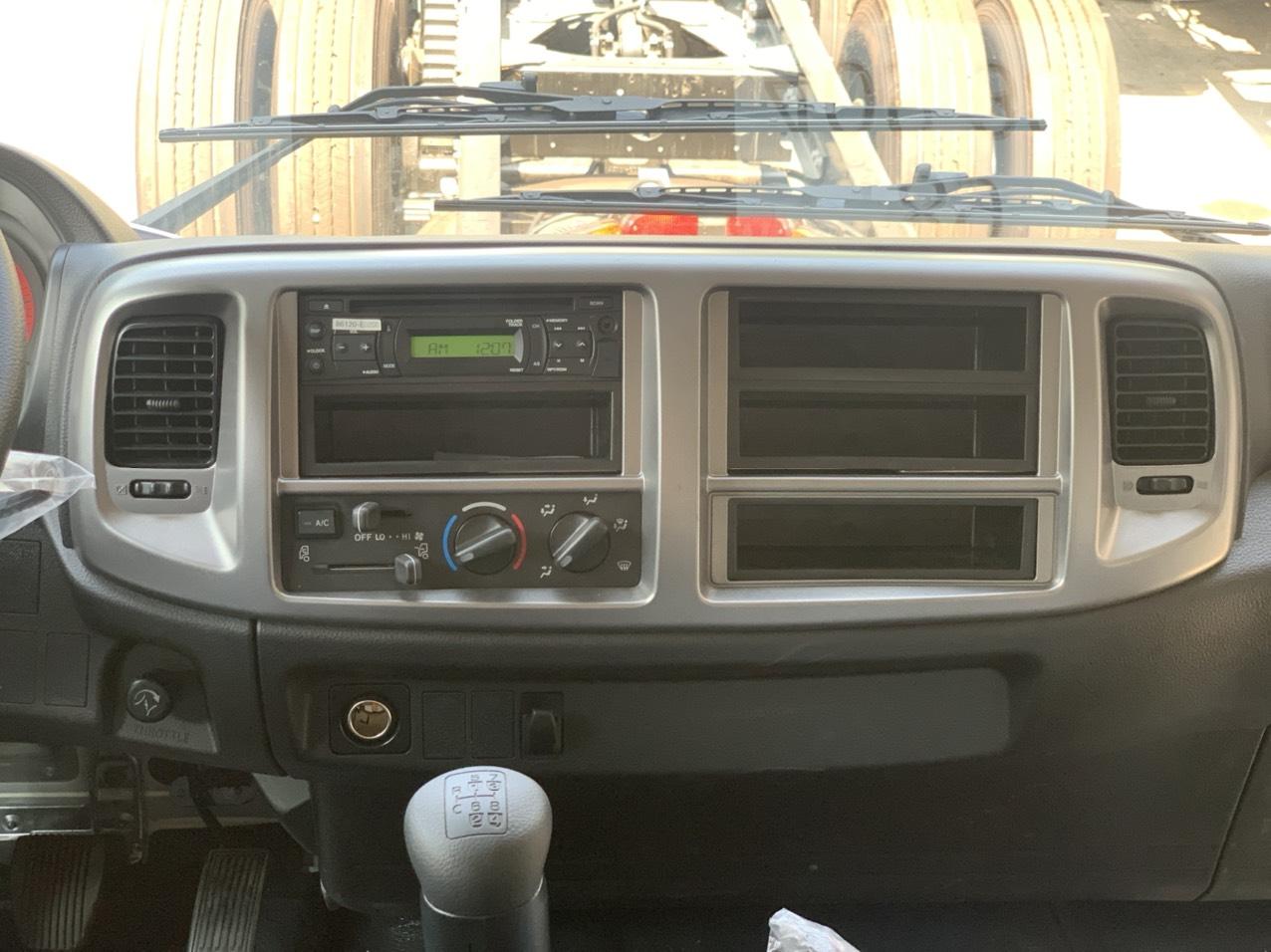 Nội thất xe tải hino 15 tấn